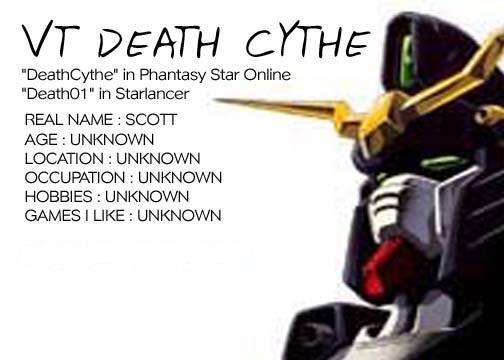 DeathCythe's Bio Reworked