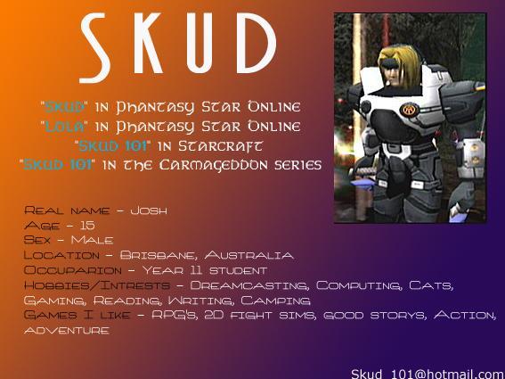 Skud's Profile