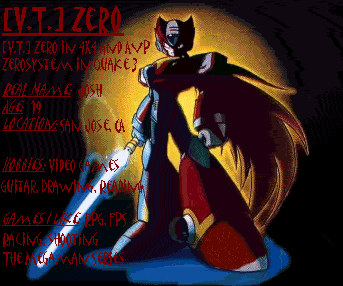Zero's New Profile